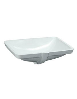 Pro A Built-in Washbasin 525 x 400mm Without Tap Ledge