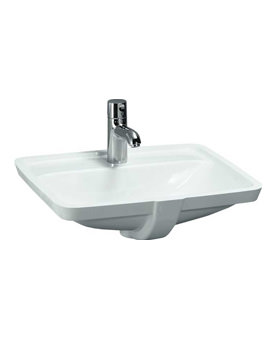 Pro A Built-in Washbasin 525 x 400mm With Tap Ledge