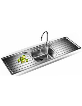 Related Franke UK Designer Pack UKX 612 Stainless Steel Kitchen Sink And Tap