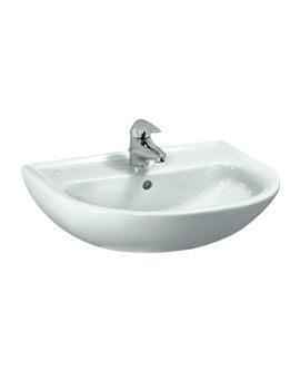 Pro B 650 x 500mm Washbasin Without Tap Hole