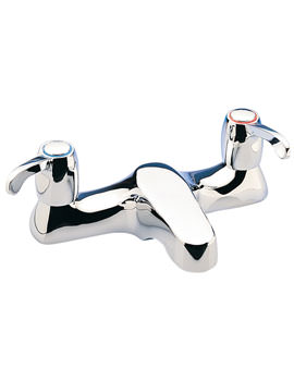 Capri Lever Deck Mounted Bath Filler Tap With 3 Inch Lever