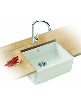 Related Franke Belfast Designer Pack VBK 710 White Ceramic Kitchen Sink And Tap