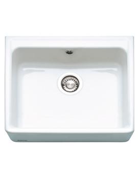 Franke Belfast VBK 710 White Ceramic 1.0 Bowl Kitchen Sink