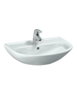 Pro B 600 x 420mm Washbasin With 1 Tap Hole