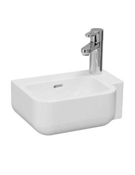 Pro B 360 x 250mm Small Washbasin With 1 Tap Hole