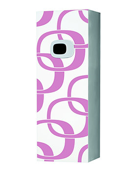 Related Laufen Mimo Medium Cabinet 360x1000mm - White With Pink Graphics
