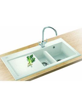 Related Franke Mythos Designer Pack MTK 651 Ceramic Kitchen Sink And Tap