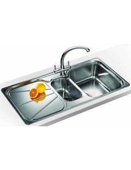 Related Franke Simplon Propack SPX 651 Stainless Steel Kitchen Sink And Tap