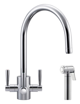 Related Franke FilterFlow Olympus Kitchen Sink Mixer Tap With Hand Spray