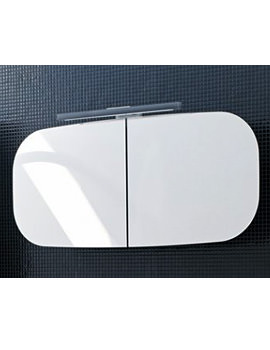 Laufen Mimo Mirror Cabinet With Lighting 1000 x 450mm - Black
