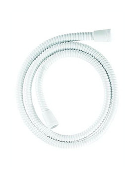 Croydex Essentials White Reinforced PVC Shower Hose 1500mm - AM169522