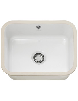 Franke V And B VBK 110 50 Ceramic 1.0 Bowl Undermount Kitchen Sink