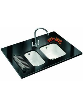 Related Franke V And B DP VBK 110 21 + VBK 110 33 Ceramic Kitchen Sink And Tap
