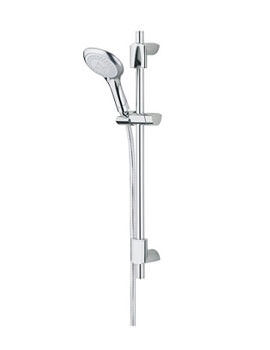 Bristan Evo Adjustable Shower Kit With Multi-Function Rub Clean Handset