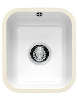 Franke V And B VBK 110 33 Ceramic 1.0 Bowl Undermount Kitchen Sink