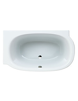 Mimo 1400 x 800mm Acrylic Bath Without Frame For Left Corner