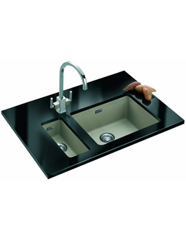 Related Franke Kubus DP KBG 110 16 + KBG 110 50 Fragranite Coffee Sink And Tap