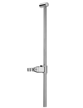 Laufen Mimo 1100mm Long Sliding Rail With Handset Bracket