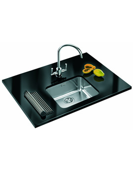 Related Franke Largo Designer Pack LAX 110 45 Stainless Steel Sink And Tap