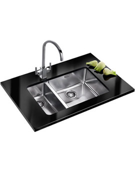 Related Franke Kubus Designer Pack KBX 160 45-20 Stainless Steel Sink And Tap