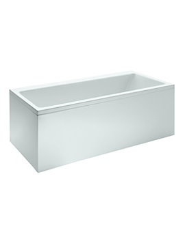 Laufen Pro 1600 x 700mm Rectangular Acrylic Bath With Panel
