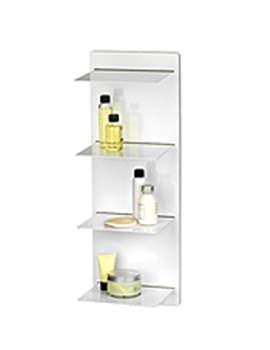 Croydex Meon Open Front Shelf Unit White - WD720122