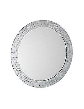Croydex Meadley Circular Mirror With Mosaic Surround - MM700700