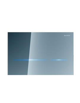 Geberit Sigma80 Mirrored Glass Touchless Flush Plate For 8cm UP720 Cistern