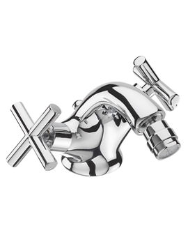 Maverick Fixed Spout Mono Bidet Mixer Tap And Pop Up Waste