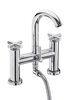 Tre Mercati Maverick Pillar Mounted Bath Shower Mixer Tap With Kit
