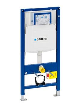Geberit Duofix WC Frame 112cm With Sigma UP320 Cistern 12cm-111.384.00.5 - Image