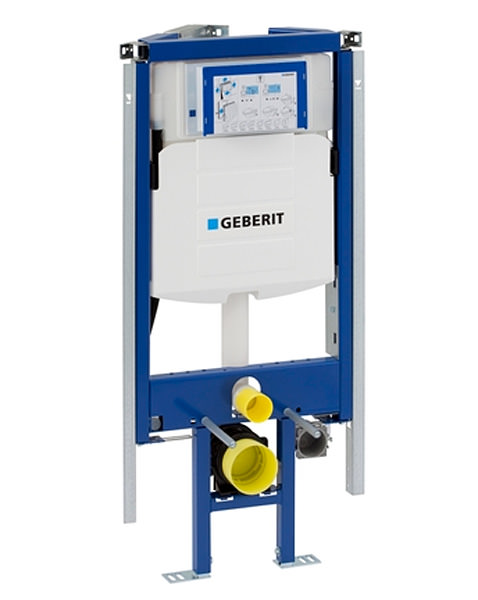 Geberit duofix corner wc frame h112 with up320 cistern 12cm for Geberit us