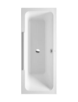 Duravit DuraStyle 1700x700mm Bath With Left Backrest Slope-700302000000000