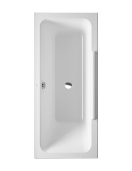 Duravit DuraStyle 1700x700mm Bath With Right Backrest Slope-700303000000000