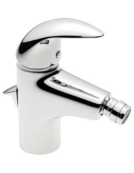 Tre Mercati Novara Mono Bidet Mixer Tap With Pop Up Waste - 65080