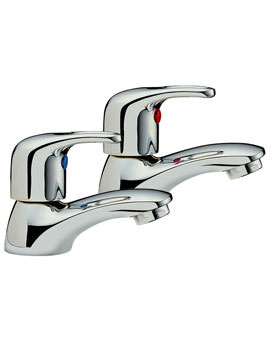 Latina Pair Of Basin Tap Chrome - 25010