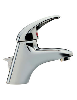 Latina Mono Basin Mixer Tap With Pop Up Waste - 25070