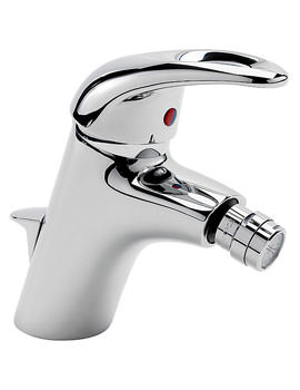 Latina Mono Bidet Mixer Tap With Pop Up Waste - 25080