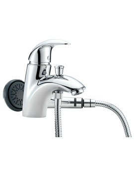Novara Mono Bath Shower Mixer Tap with Shower Kit - 65060