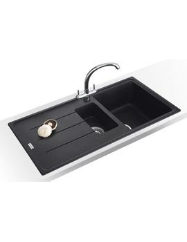Related Franke Basis Propack BFG 651 Fragranite Onyx Kitchen Sink And Tap