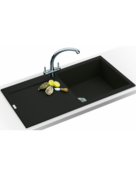Related Franke Maris Propack MRG 611 Fragranite Onyx Kitchen Sink And Tap