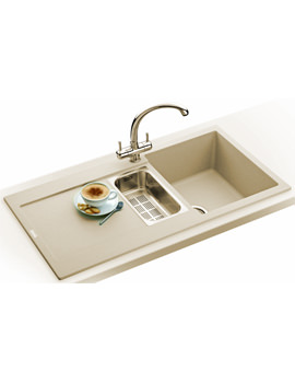 Related Franke Maris Propack MRG 651 Fragranite Coffee Kitchen Sink And Tap
