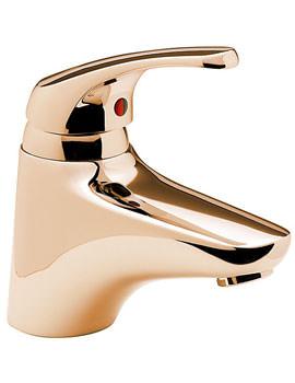 Tre Mercati Modena Mono Bath Filler Tap Gold - 95233