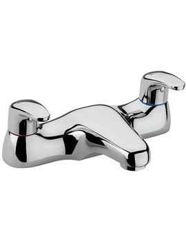 Modena Deck Mounted Bath Filler Tap Chrome - 95030