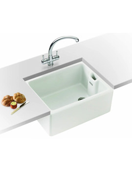 Franke Belfast Propack BAK 710 White Ceramic Kitchen Sink And Tap