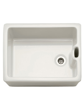 Franke Belfast BAK 710 White Ceramic 1.0 Bowl Kitchen Sink