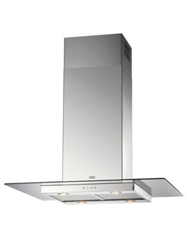 Glass Linear FGL 915 I XS Stainless Steel Island Kitchen Hood