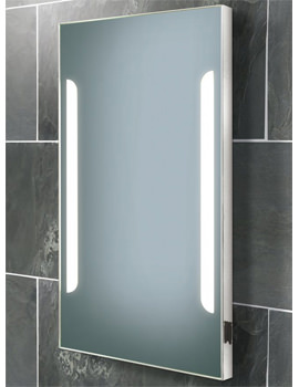 Zenith Back-Lit Steam Free Mirror With Shaver Socket 450 x 800mm