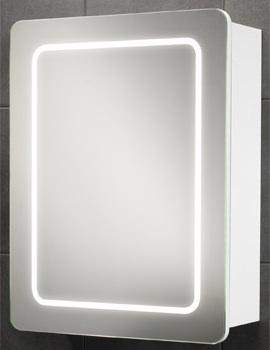 Orlando Single Door LED Back-Lit Illuminated Cabinet 500 x 650mm