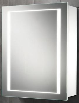 Austin Single Door LED Back-Lit Illuminated Cabinet 500 x 630mm